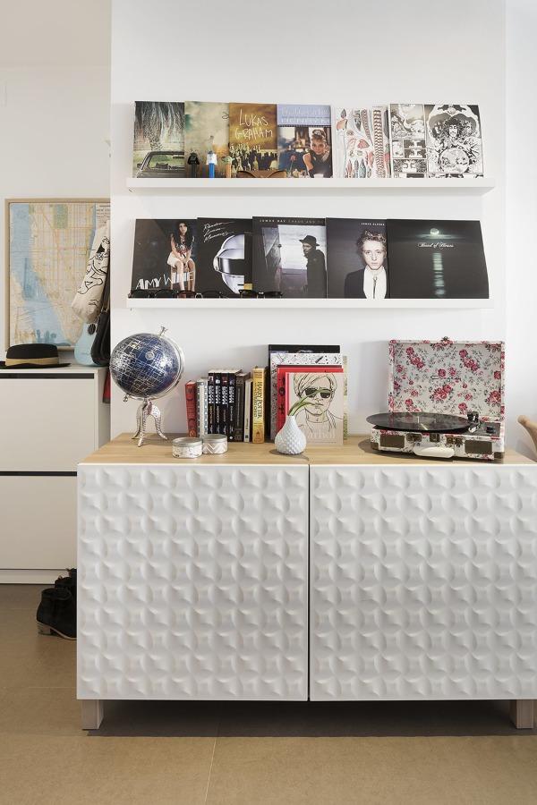 Mueble Besta en el salón
