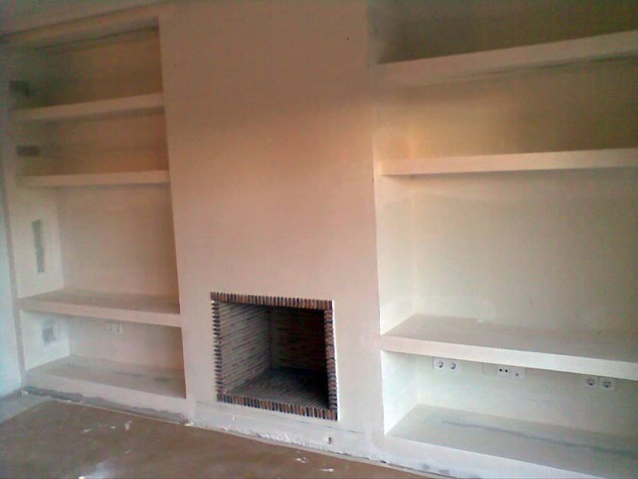Foto mueble chimenea de enrique sancho mart nez 305013 - Muebles de pladur para salon ...