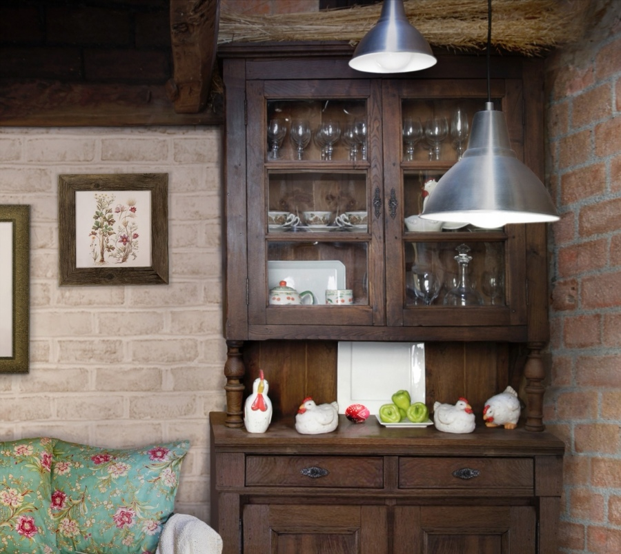 Mueble chinero acristalado