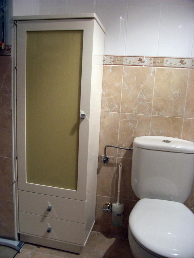 foto: mueble columna blanco de muebles de baño jara #282213 ... - Muebles Bano Lucena
