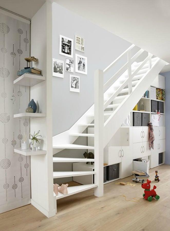 Foto mueble comedor hueco escalera de miv interiores for Muebles para hueco escalera