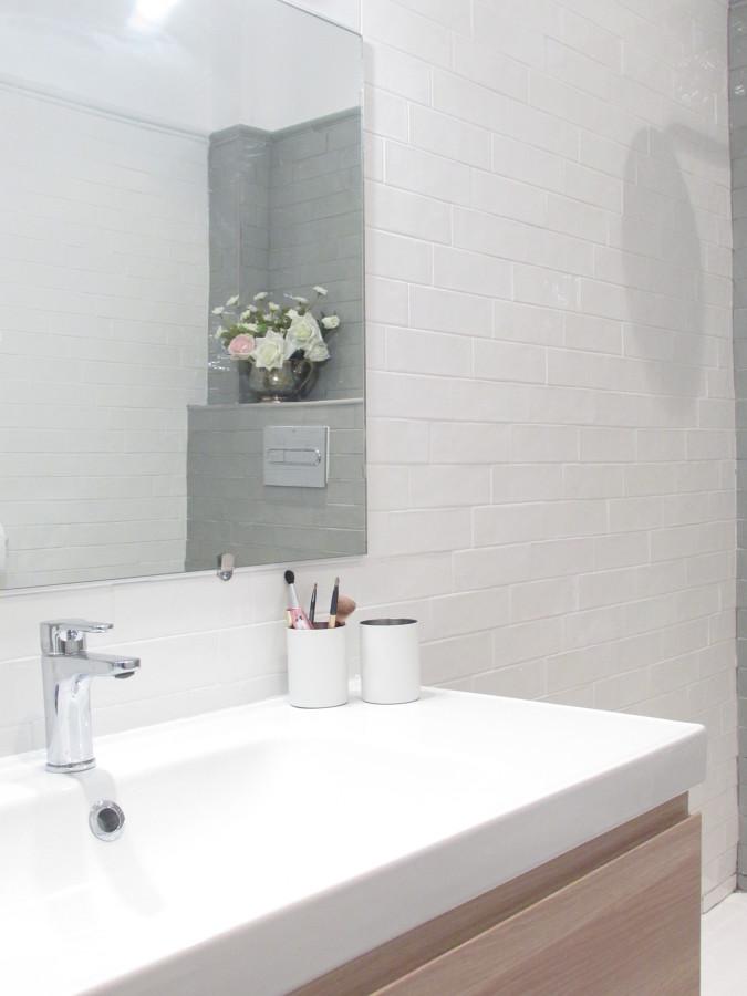 Mueble con lavabo de 100 cm