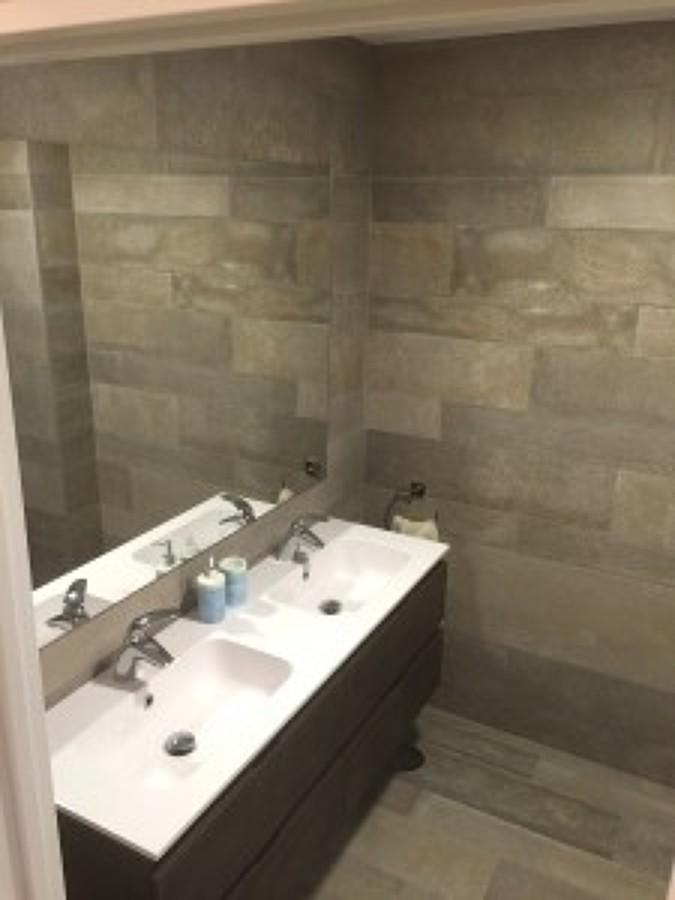 Mueble de baño de dos senos