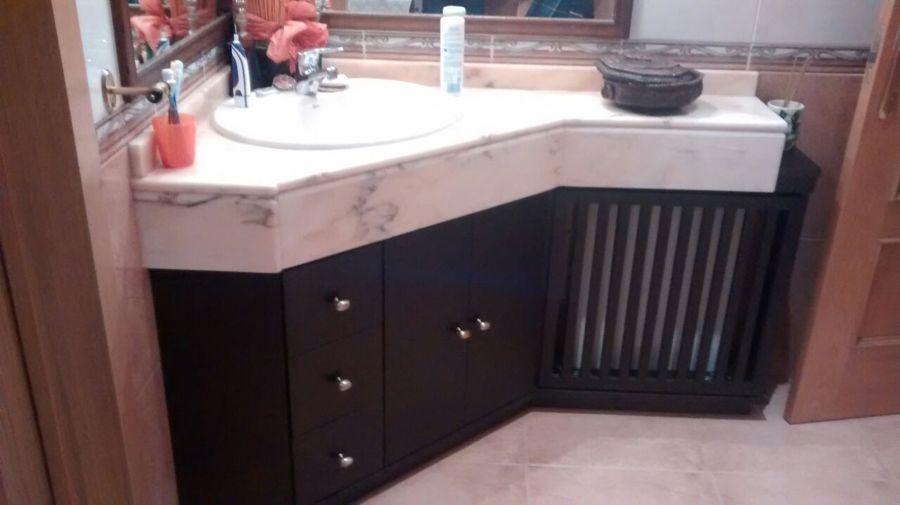 Mueble de baño fabricado a medida