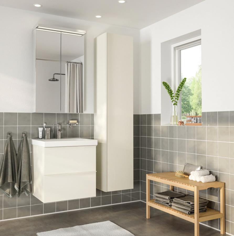 Mueble de baño GODMORGON / ODENSVIK, IKEA.