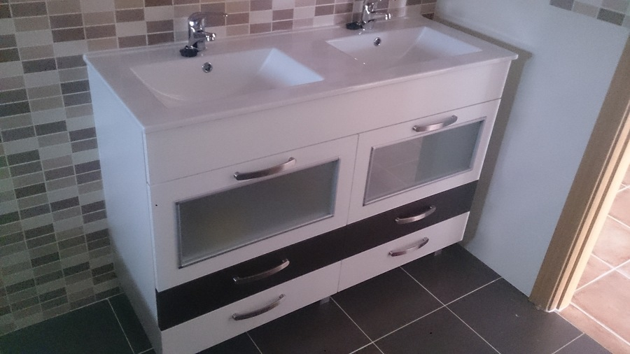 foto mueble de ba o lavabos doble de montajes calero