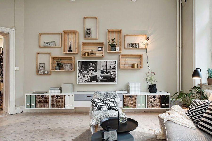 Mueble de cajas