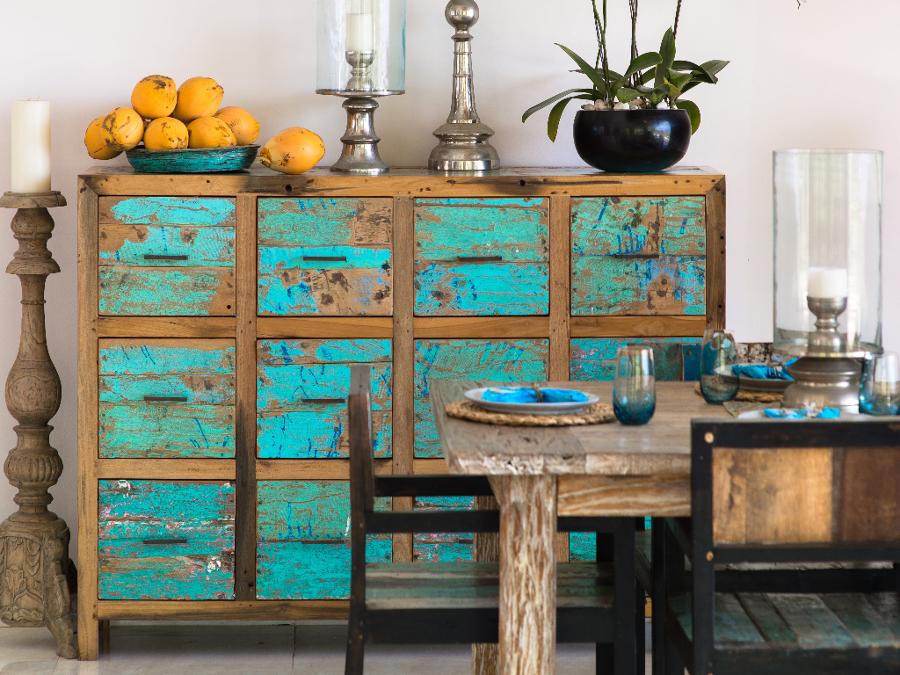Mueble de color