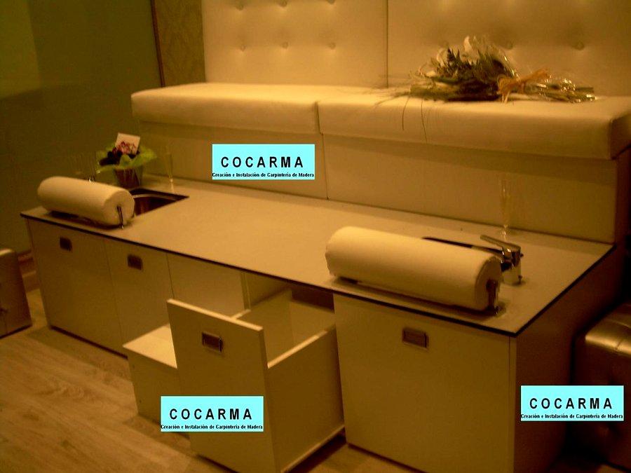 Muebles para hacer pedicure for Sillas para hacer pedicure