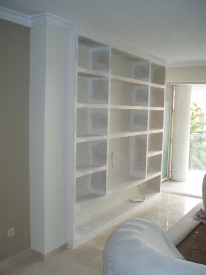 Mueble de pladur en el comedor ideas pladur for Muebles de pladur para salon