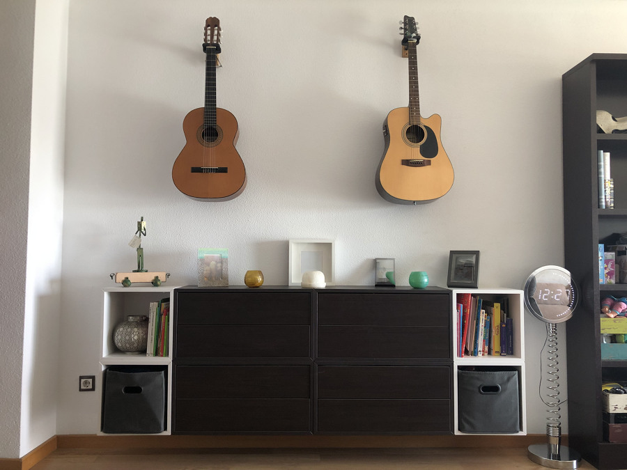 Mueble de salón al aire