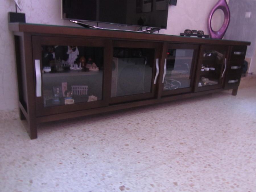 Mueble de televisor en madera hecho a medida ideas - Muebles de madera a medida ...
