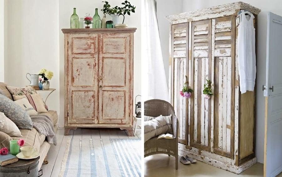 Viva el color renueva tus muebles con un poco de pintura - Mueble blanco decapado ...