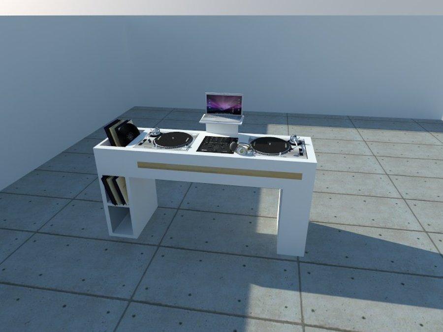 Dise o mueble dj ideas muebles - Muebles para dj ...
