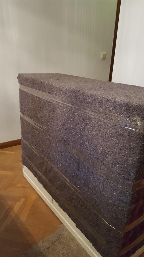 mueble embalado