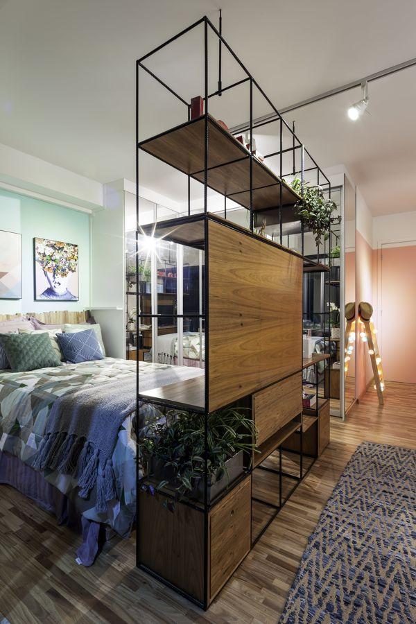 Mueble en habitación