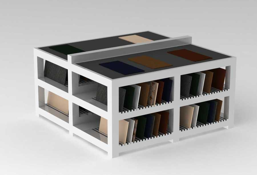 Muebles para exposicion de ceramica tarragona ideas for Muebles exposicion