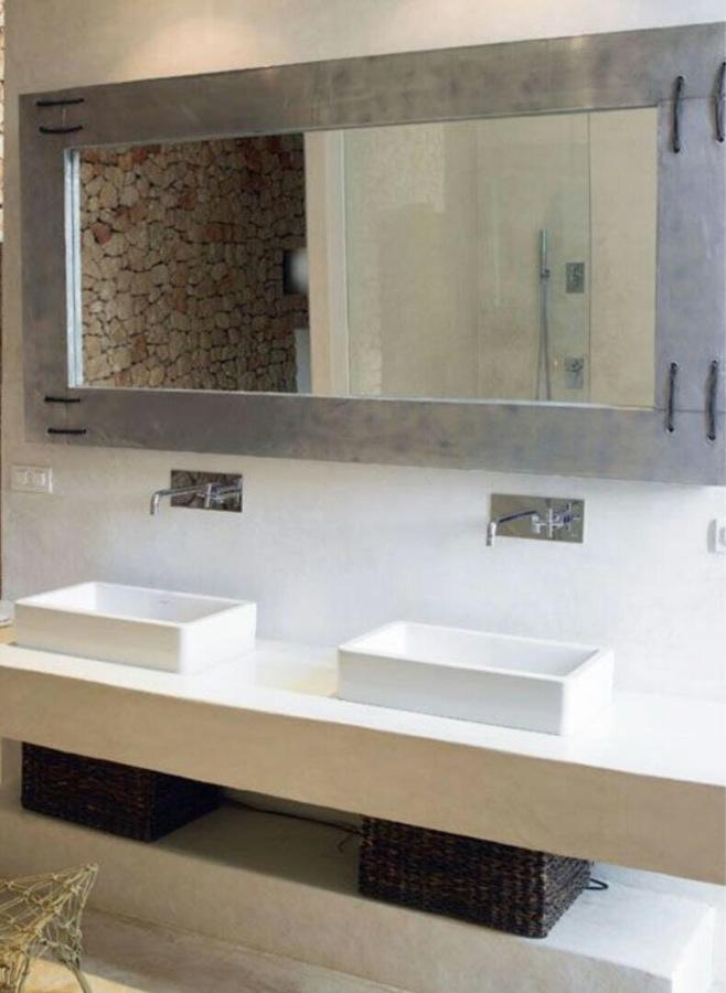 Mueble lavabo en perla