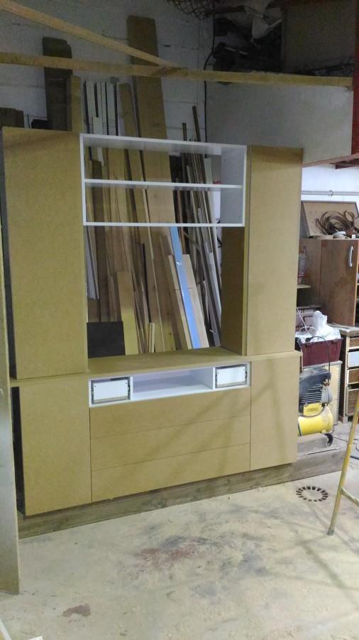 Muebles a medida ideas carpinteros - Mueble libreria salon ...