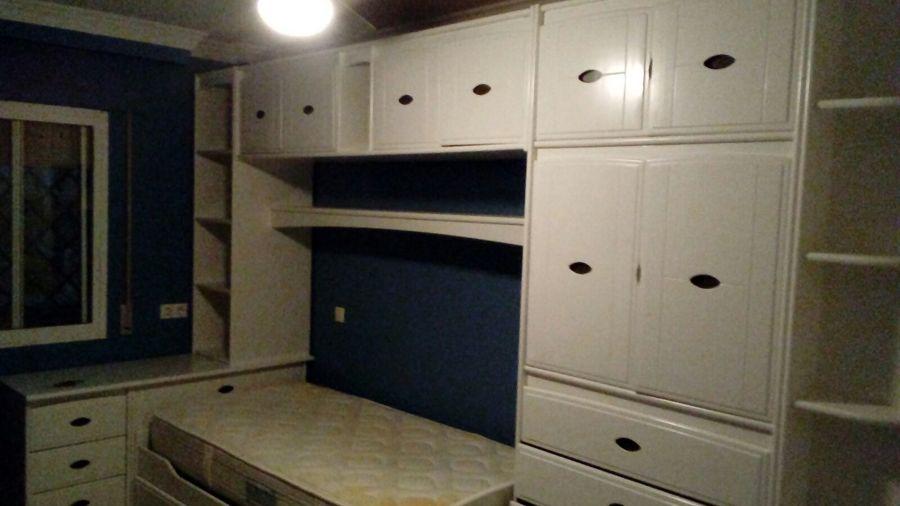 Lacado mueble dormitorio y sal n ideas reformas viviendas - Lacar muebles a pistola ...