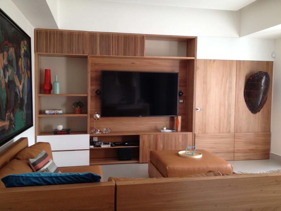 Mueble principal del salón