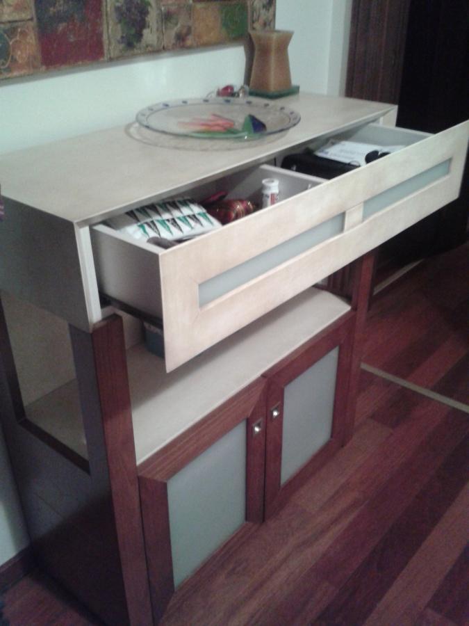 Mueble recibidor modelo Arias