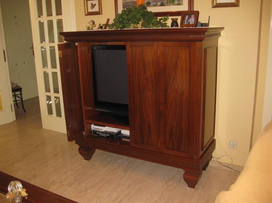 Mueble para ocultar televisi n y equipo de m sica en - Tu mueble barcelona ...