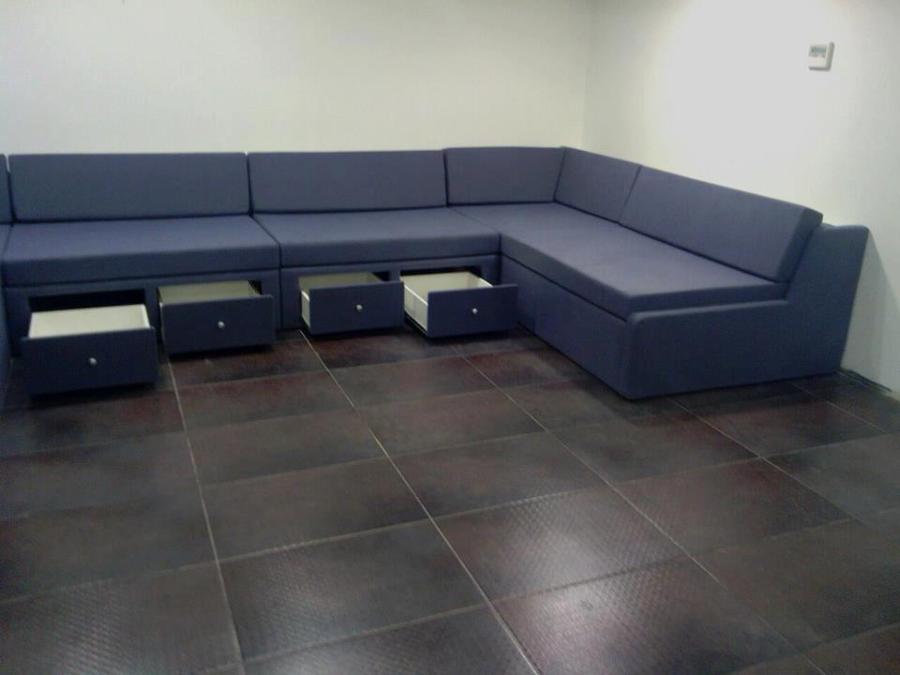 Sofas con cajones cama con cajones make sof cama con for Mueble cama con cajones