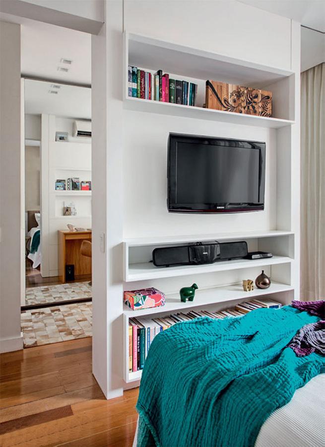 10 soluciones para dormitorios peque os ideas decoradores - Soluciones dormitorios pequenos ...