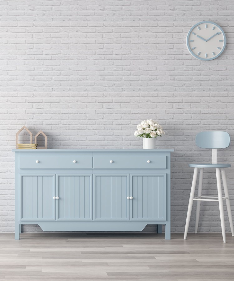 Muebles azules