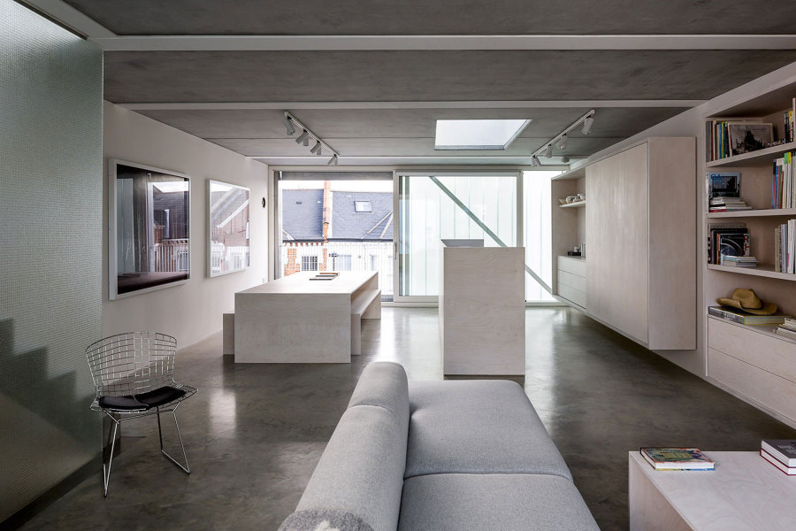 muebles bajos en una cocina abierta al salón