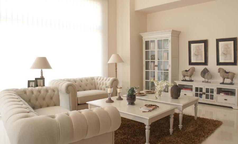 Consejos para decorar con muebles blancos ideas for Decorar reciclando muebles