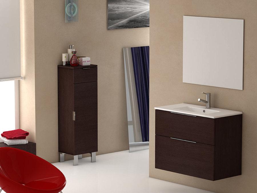 Muebles de baño con puertas y cajones