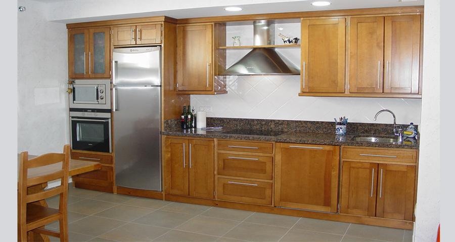 Foto muebles de cocina de madera 7 de nova 2000 1101014 - Muebles de cocina albacete ...