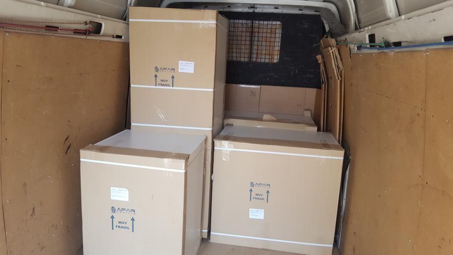 muebles de cocina embalados