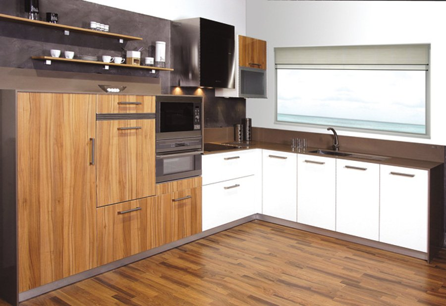 Foto muebles de cocina en polilaminado 3 de nova 2000 for Habitissimo cocinas