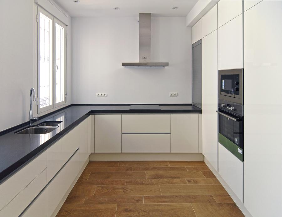 Foto muebles de cocina de cm4arquitectos 712923 for Muebles de cocina zamora
