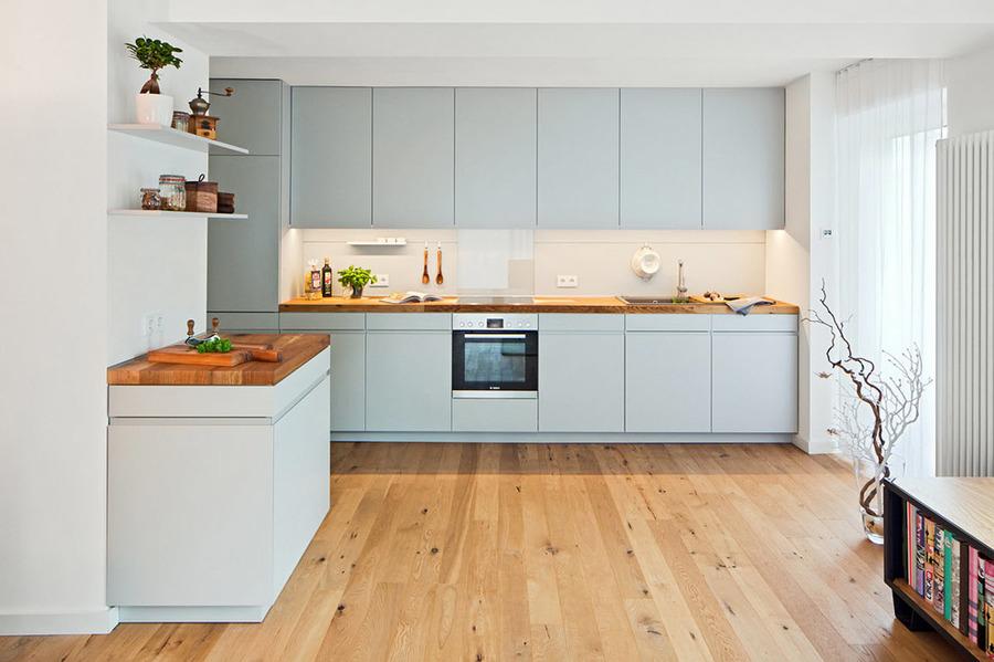 Foto muebles de color en cocina 1748582 habitissimo for Muebles de cocina zamora