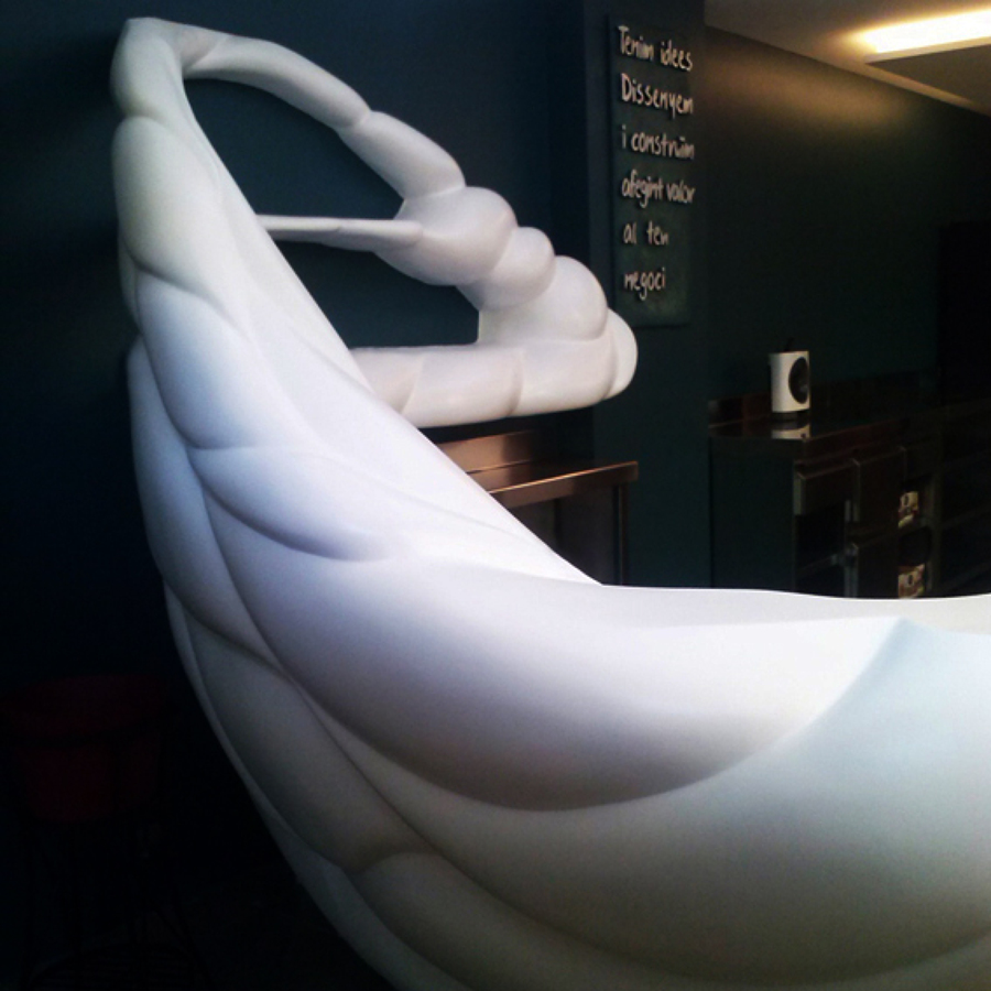 muebles de diseño en resina