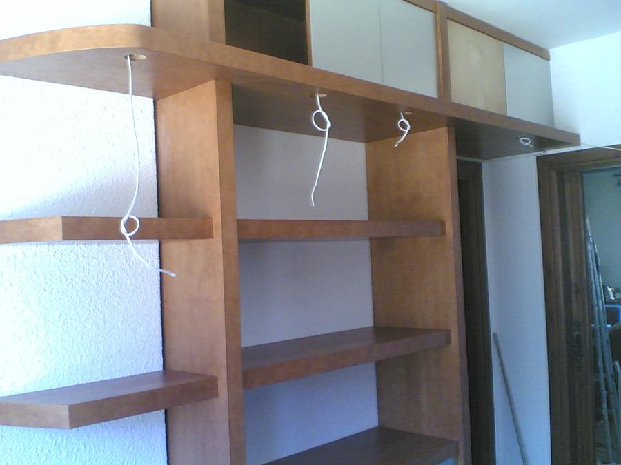 Muebles de estudio. Cableado para luces.