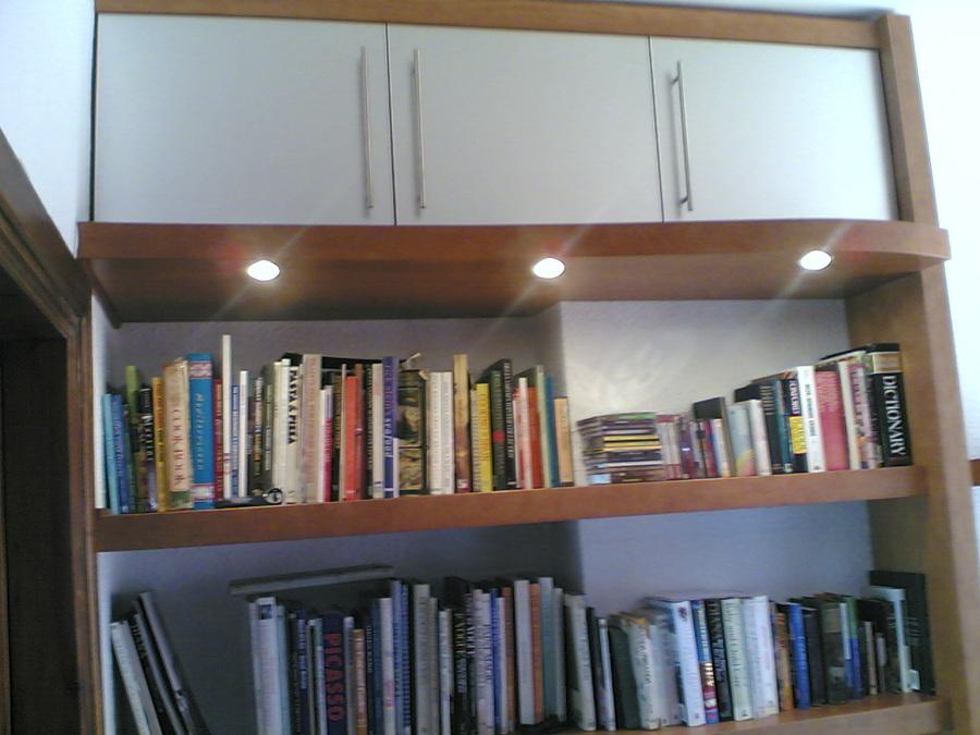 Muebles de Estudio. iluminación.