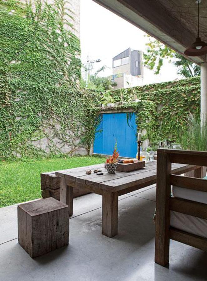 Foto Muebles de Exterior de Madera #1480874  Habitissimo