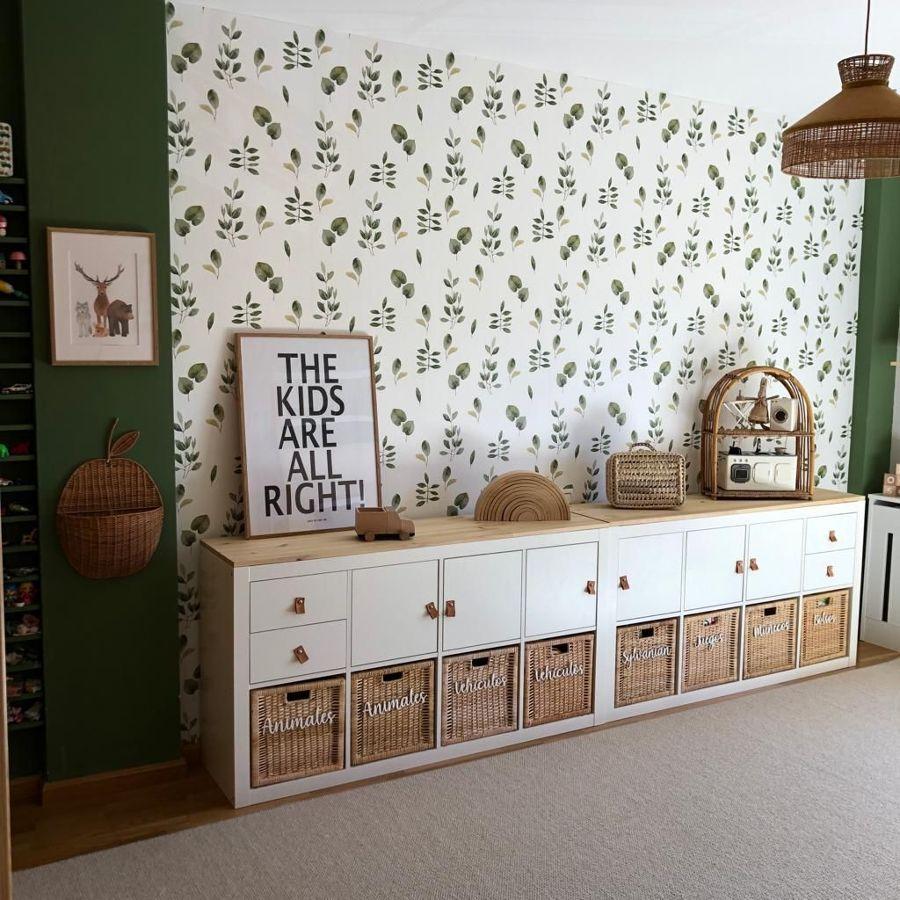 Muebles de IKEA con tapa, y tiradores nuevos