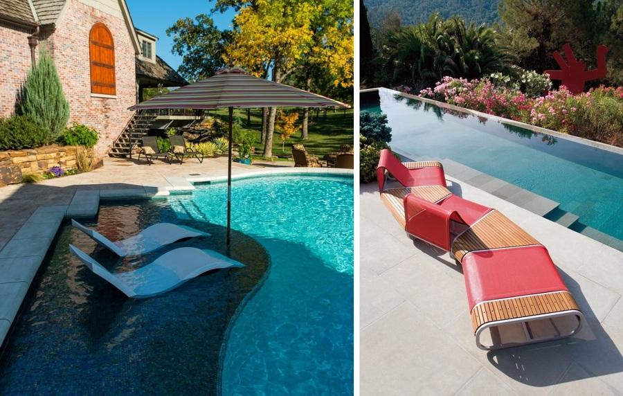 Elige las mejores tumbonas para tu piscina ideas decoradores - Muebles de piscina ...