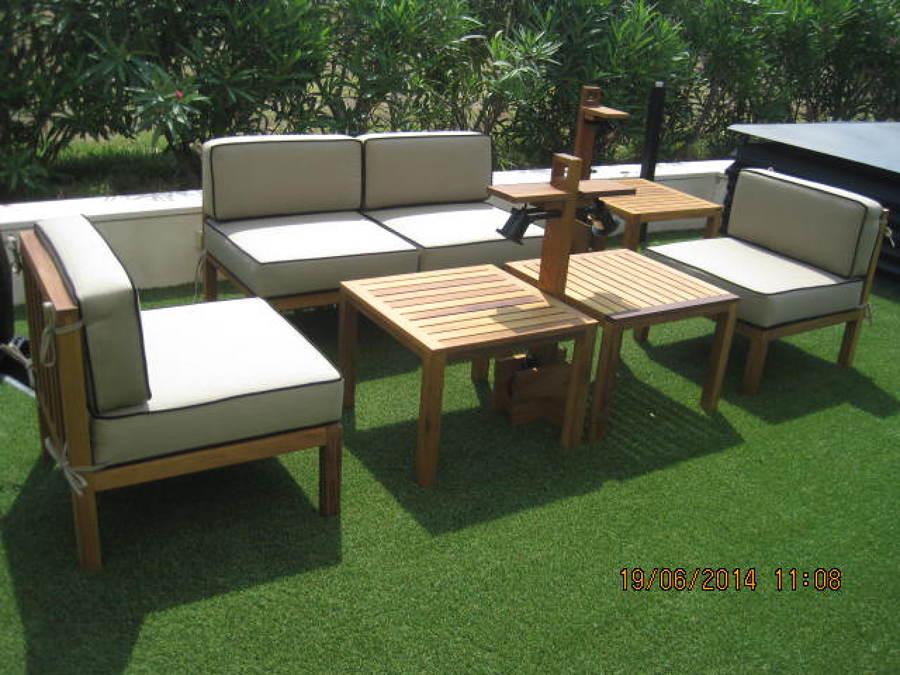 Foto muebles de terraza de javier latorre carpinter a de for Muebles alcaniz