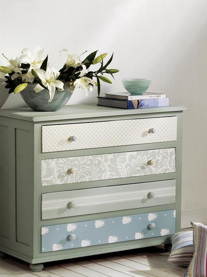 Viva el color renueva tus muebles con un poco de pintura - Pintura ala tiza para muebles ...
