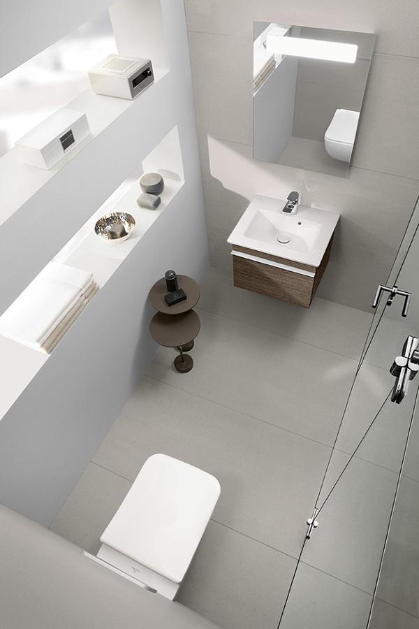 mueble multifunción en baño pequeño