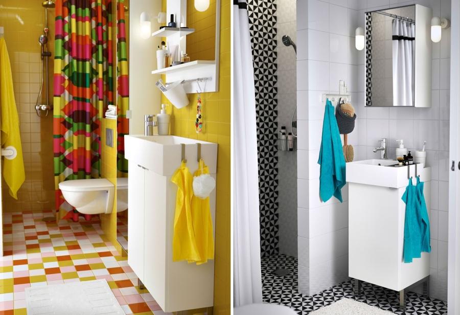 5 trucos para aprovechar el espacio de tu ba o ideas for Muebles de bano para espacios pequenos