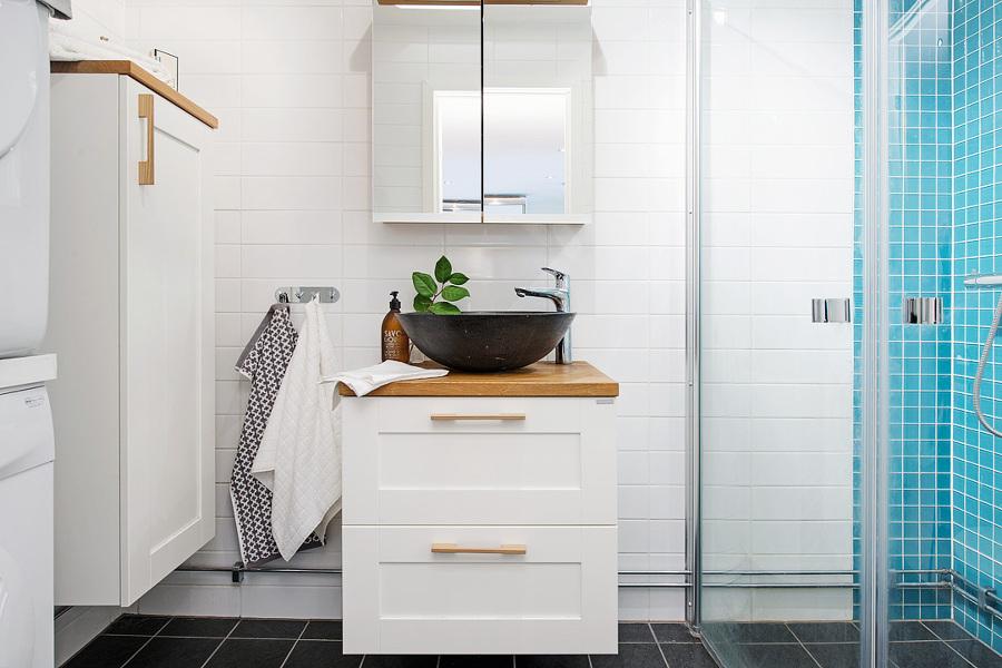 5 trucos para aprovechar el espacio de tu ba o ideas - Muebles bano pequeno ...
