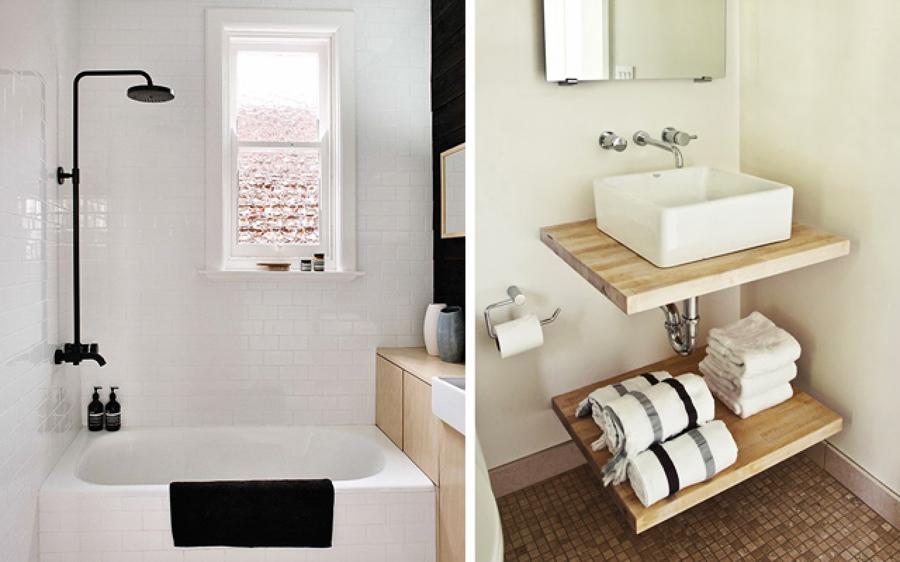 foto muebles peque os en ba os de irene villaverde On muebles para aseos pequenos